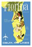 Florida - Golf - Scuba Diving - Sunbathing - Delta Air Lines