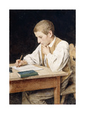 Writing Boy  1902