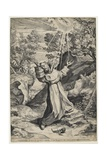 Saint Francis Recieving the Stigmata  1586