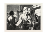 Exhibition of the British Institution: Scandal  1851