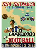 San Salvador - Il Campeonato de Foot-Ball (2nd Championship Soccer) December 4-19  1943