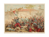Battle of Magenta  Italy  1859