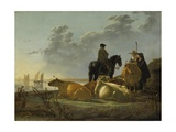 Peasants and Cattle by the River Merwede  C1655-60