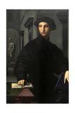 Ugolino Martelli (1519-1592) 1536-1537 Portrait by Il Bronzino (1503-1572)