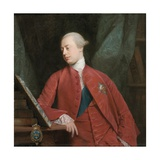 Portrait of Frederick  Lord North K G  Later 2nd Earl of Guildford