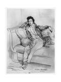 Portrait of Alexandre Dumas  Père