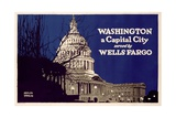 Poster Advertising Wells Fargo  C1925