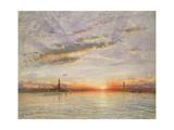 Sunset  Venice  1902