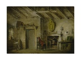 The Deans' Cottage  Stage Design for 'The Heart of Midlothian'  C1819