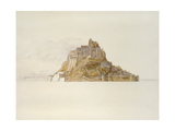 Mont St Michel from the Sands  C 1876 (Watercolour over Graphite  on Paper)