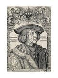 Portrait of Emperor Maximilian I  C 1519