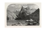 Swiss School Lake Lucerne  1855
