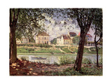 Villeneuve-La-Garenne  or Village by the Seine  1872