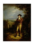 Robert Burns (1759-96)  1828 (Panel)