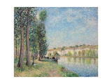 The Loing at Moret; Le Loing a Moret  1885