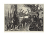 Hoisting Sail in the Atlantic