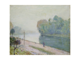 A Bend in the River Loing  1896
