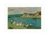 Banks of the River (Les Bords De Riviere)  1897