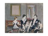 The Schuyler Family  1824
