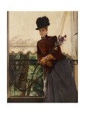 Portrait of Mademoiselle Dubois  1884