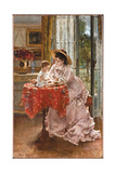The Contented Mother  1872
