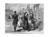 Richmond Ladies Going to Receive Government Rations  Published 1865