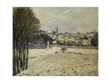 The Snow at Marly-Le-Roi  1875
