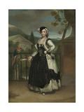 Portrait of Isabel Parreno Arce And  Marquesa De Llano  C1771-2