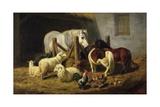 Barnyard  1860