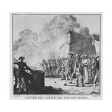 The Raising of the Siege of Pondicherry  1789