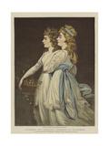 Elizabeth and Georgiana  Duchesses of Devonshire