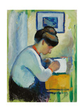 Woman Writing  1910