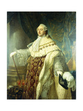 Portrait of Louis XV Wearing Robes of State