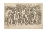 Bacchanal with Silenus  Early 1470s