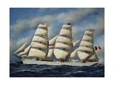 Italian Sailing Ship Maria Teresa  Shipowner Pietro Milesi  1901