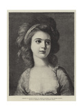 Portrait of Countess Potocka  in the Dresden Gallery