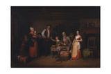 The Pedlar Displaying His Wares  1836