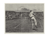 The Lawn Tennis Championship Match at Wimbledon