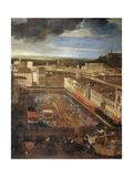 Saracen Joust in Piazza Navona  February 25  1634