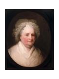 Portrait of Mrs George Washington  1835