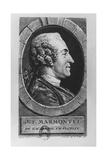 Portrait of Jean François Marmontel  1765