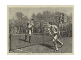 The Lawn Tennis Championship Meeting at Wimbledon  the Fifth Round of the All Comers' Match