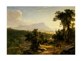 Landscape-Composition: in the Catskills  1848