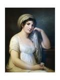 Portrait of Princess Belgioioso D'Este  Painting by Andrea Appiani (1754-1817)  Italy  18th Century