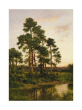 A Quiet Evening  Surrey Pines  1916