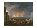 The Bombardment of Vienna by the French Army  11th May 1809