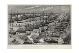The Great Coronation Naval Display  Bird'S-Eye View of the Fleet Assembled at Spithead