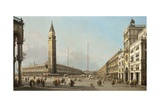 Piazza San Marco Looking South and West  1763