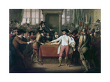 Cromwell Dissolving the Long Parliament  1782