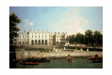 Old Somerset House from the River Thames  London